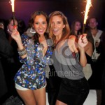 Ice Fountains Celebrities Aurdrina Patridge Clubbing LA USA