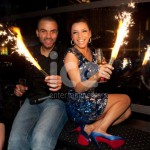 Ice Fountains Celebrities Eva Longoria
