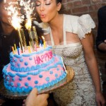 Ice Fountains Celebrities Kim Kardashian Birthday