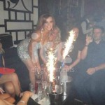 Ice Fountains Celebrities Maria Fowler Towie Sugar Hut Essex
