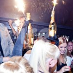 Ice Fountains Celebrities Mike Posner Whisky Mist London