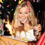 Ice Fountains Celebrities Mollie King The Saturdays