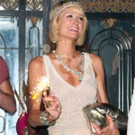 Ice Fountains Celebrities Paris Hilton Sparkler London