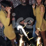 Ice Fountains Celebrities Puff Daddy P Diddy Champagne Sparklers