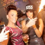 Ice Fountains Celebrities Tulisa Female Boss