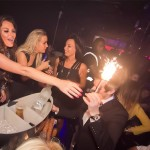 Ice Fountains VIP Celebrities Jessica Wright TOWIE in Rise Superclub London