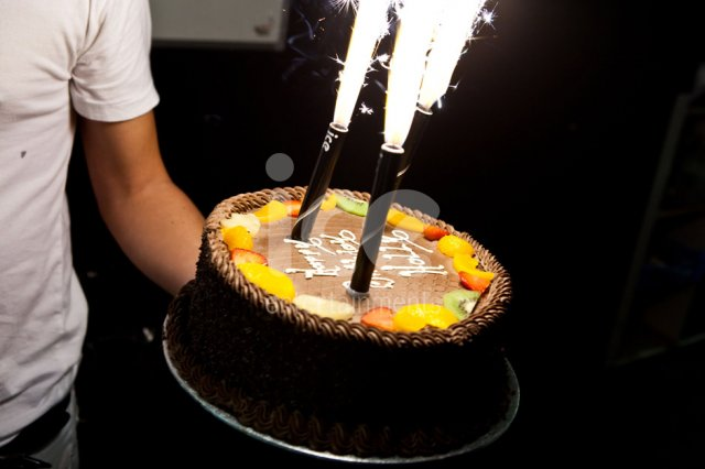 Ice Fountains Birthday Cake Decorations Sparkler Candle