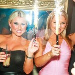 Ice Fountains Celebrities Billie Sam Faiers Towie Essex Funky Buddha