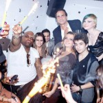 Ice Fountains Celebrities Cee Lo Green Merah London Sparklers