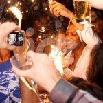 Ice Fountains Celebrities JB JLS Nightclub Sparklers