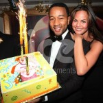 Ice Fountains Celebrities John Legend Birthday