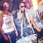 Ice Fountains Celebrities Lmfao Far East Movement Whisky Mist