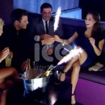 Ice Fountains Celebrities Mark Wright James Argent Arg TOWIE