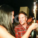 Ice Fountains Celebrities Matt Cardle X Factor Winner Bottle Sparkler