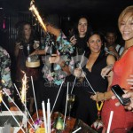 Ice Fountains Celebrities Rihanna Sparklers Mahiki London