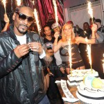 Ice Fountains Celebrities Snoop Dog Birthday Sparklers