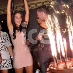 Ice Fountains Celebrities Tulisa NDubz Birthday Sparklers