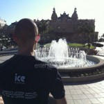 Ice Fountains Fun Shots Cool As Ice Casino Royale Monaco