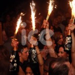 Ice Fountains Nightclubs Bottle Service Bottle Sparkler Show
