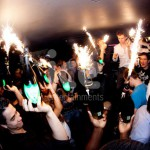 Ice Fountains Nightclubs Bottle Service Glowing Dom Perignon