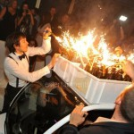 Ice Fountains Nightclubs Bottle Service Selection Of Bottles With Sparklers