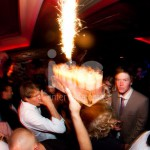 Ice Fountains Nightclubs Bottle Service Sparklers With Shots Trays